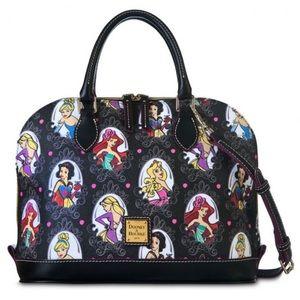 "Disney Dooney & Bourke ""Runaway Princess"" Bag"